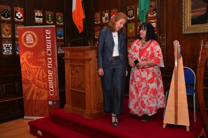 Aibhlín McCrann and Áine Ní Dhubhghaill