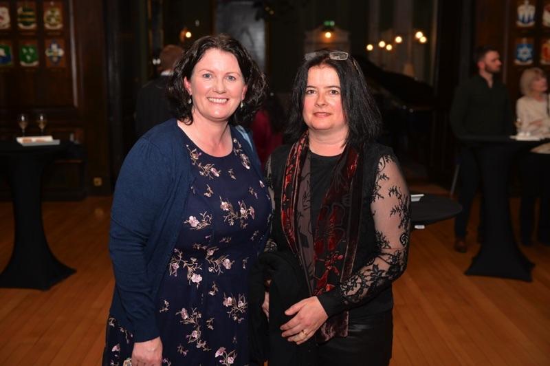 Dearbhail Finnegan and Caitríona Rowsome