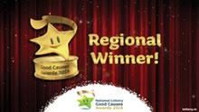 National Lottery Regional Winner